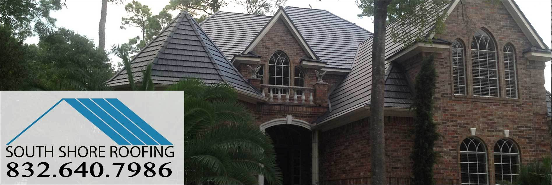 Iron Wood Shake Metal Roofing