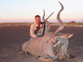 Randy in SA with his Kudu