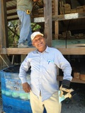 Lorenzo has been working in the lumber yard for 18 yrs. His son Miguel has worked here with his dad for 8 yrs.