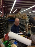 Jeff can be found doing our ordering and helping customers when it's needed. Jeff has been with us for more than 15 yrs.