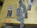 galvanized chain hook