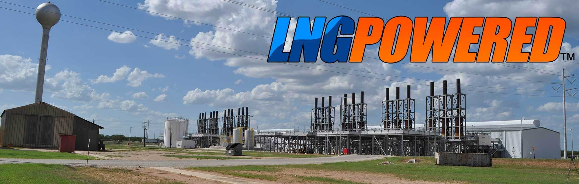 LNG Powered Power Generation Engines