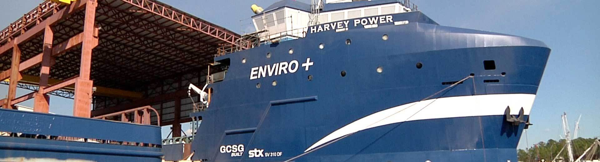LNG Powered Offshore Vessel